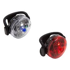 Ebay Bike Light Set Planet Bike Button Blinky Light Set