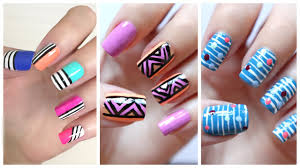 Easy Nail Art For Beginners!!! #20 | JennyClaireFox - YouTube