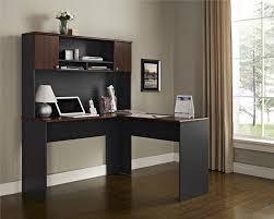 com ameriwood home the works l shaped desk cherry kitchen dining