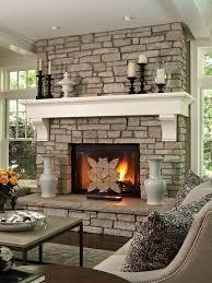 50 sensational stone fireplaces to warm