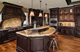 dark wood kitchen cabinets. Fine Dark Dark Mixed Wood Custom Cabinets Traditionalkitchen And Wood Kitchen Cabinets K