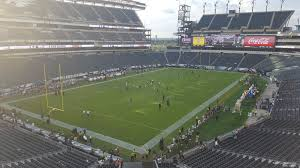 seat view for lincoln financial field section m14 row 7