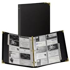Classic Collection Business Card Ring Binder Samsill World