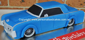 3d Lincoln Car Cake