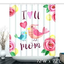 birds shower curtain birds shower curtain fl background with birds mothers day shower curtain bird shower