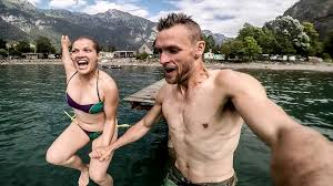 Daring daters – Love is in the air for wingsuit couple - Caters ...