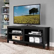 walker edison furniture. Walker Edison Furniture Company Essential Black Storage Entertainment Center And