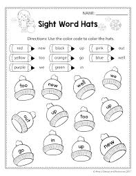 Winter Science Worksheets Early Learning Measuring Weight Practice ...