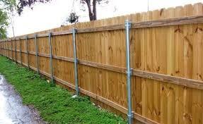cedar fence wood fence installation