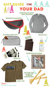 gift guide for dad 2016 the tiny twig