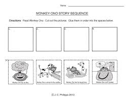 sequence worksheets for kindergarten free library reading ...