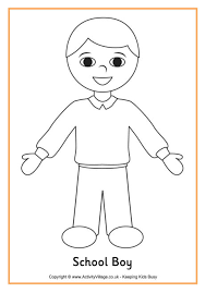 Small Picture Boy Coloring Page Boy And Girl More nebulosabarcom
