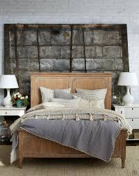 Master Bedroom Bedding How To Mix And Match Patterned Bedding Wood Texture Industrial