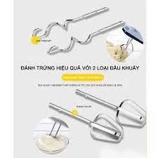 Hot] Máy Đánh Trứng Mini Cầm Tay 7 Tốc Độ Công Suất 180W giá cạnh tranh