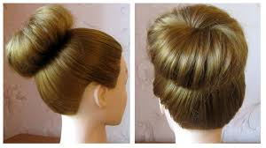 Chingon Hair Style easy and fast chignon hairstyle without donut for long and medium 1723 by wearticles.com