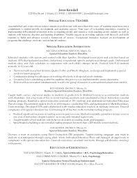Example Of A Teacher Resume Free Sample Teacher Resume Teacher ...