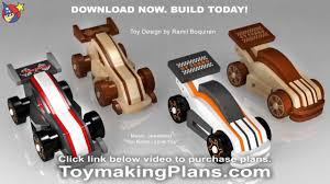 Wooden Race Car Designs Wood Toy Plans Wild Rugged Gt Race Cars