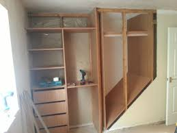 Overbed Fitted Wardrobes Bedroom Furniture Removed The Side Of The Staircase Home Improvement Ideas