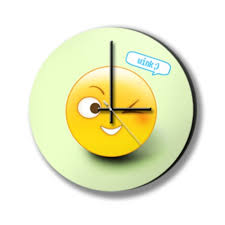 Wink Emoticon Photo Clock Kings And Queens