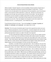 argumentative essay outline of argumentative essay sample argumentative essay sample 9 examples in pdf word