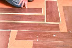 installing vinyl plank flooring how to install tile thinking of l and stick we on cement