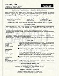 Trader Resume Example