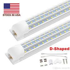 Eight Foot Fluorescent Light 8 Foot Led Light Fixtures Pogot Bietthunghiduong Co