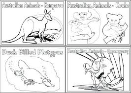 Animals Colouring Sheets Colouring Pages Featuring Various Animals