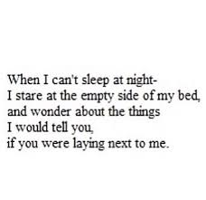 i wanna go to bed every night quotes with you