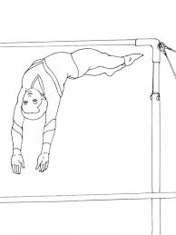 Kleurplaat Turnen Handstand Zirkus Malvorlagen Malvorlagen1001 De