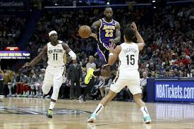 LeBron James has triple-double, Lakers beat Pelicans 122-114