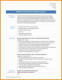 Medical Receptionist Resume 100 Medical Receptionist Resume New Hope Stream Wood 79