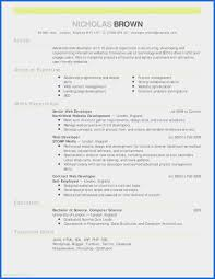 College Resume Template Top 10 Resume Format Free Download Beautiful