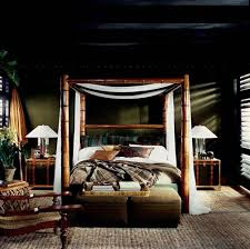 Safari Bedroom A Luxe And Moody Bedroom That Belongs In A Safari Design Meet
