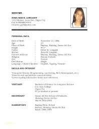 Basic Resume Formats Free Resumes Templates To Download Free Resume ...