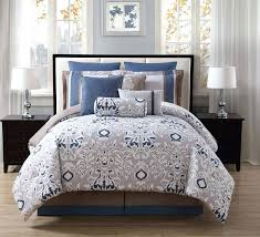 navy blue and cream bed sets bedding gray grey comforter twin dark beige se navy and cream bedding set linen blue