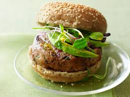 tuna burgers with carrot ginger sauce recipe tyler florence food network