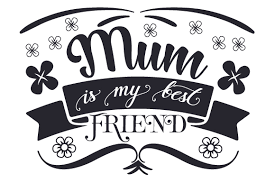 How to convert image to vector. Mum Is My Best Friend Svg Cut File By Creative Fabrica Crafts Creative Fabrica