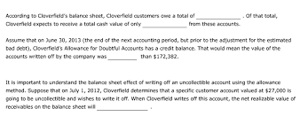 allowance for uncollectible accounts balance sheet allowance for uncollectible accounts balance sheet allowance for