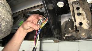 trailer plug wiring chevy wiring diagram schematics baudetails installation of a trailer wiring harness on a 2015 chevrolet