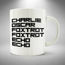 The international phonetic alphabet (ipa) is a set of symbols that linguists use to describe the sounds of spoken languages. Coffee Mug Cup Coffee Tea Funny Nato Phonetic Alphabet Style Ebay