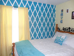 Best Inspiring Accent Wall Ideas To Change An Area Diamond Design Picture  For How Paint On Inspiration And Trend