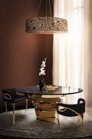 Love Happens Projects with Eternity Chandelier, Intuition Dining Table,  Chandra Dining Chair vogue furniture, 2015 home decor trends,