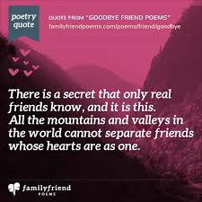 40 Goodbye Poems For Friends Poems Saying Goodbye To Friends Interesting Goodbye Friendship
