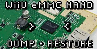 wiiu guide emmc nand dump backup restore ms wiiu guide emmc nand dump backup restore