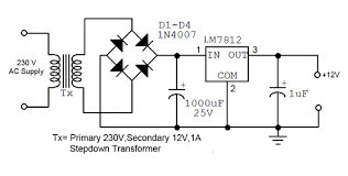 convert ac to dc circuit diagram ireleast info how to convert 230v ac to 12v dc quora wiring circuit