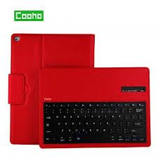 Cooho <b>Lychee</b> Pattern Detachable Bluetooth <b>Keyboard Case for</b> ...
