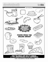 Food Pyramid Coloring Page For Kids Educational Videos Inside