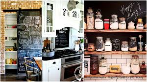 Kitchen Chalkboard With Shelf Chalkboard Paint On A Kitchen Homesthetics Inspiring Ideas For
