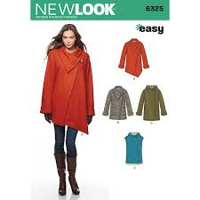 Coat Sewing Patterns Magnificent New Look Women's Coat Sewing Pattern 48 Hobbycraft